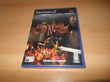 KING'S FIELD IV FOR PLAYSTATION 2 'PAL   NEW SEALED ps2