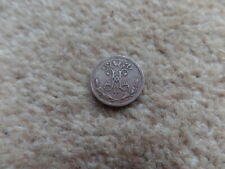Rare Old Collection Russian Tsar King Nicholas  II -  Small Coin- 1899 - 16mm