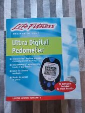 Life Fitness Ultra Digital Pedometer -Ideal for aerobic workouts