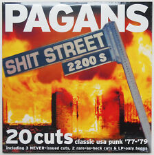 Pagans - Shit Street LP Baloney Heads Offbeats Mirrors Clocks Cleveland OH Punk