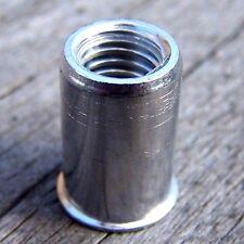 2000 Blindnietmuttern M8 Alu kl. Senkkopf 2,5-4,0mm Sonderangebot ohne Rändelung