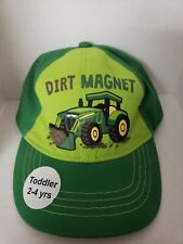 John deere toddler hat. Dirt Magnet. Toddler 2-4. Pre-owned
