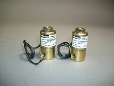 Lot of 2 Parker Skinner Valve 3129BBN1JNPCRRT1J1C2 - 24VDC - New