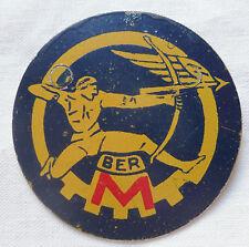 Insigne Armée de l'Air BASE ECOLE 721 BER ROCHEFORT métal peint ORIGINAL 55 mm