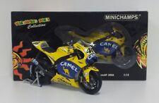 MINICHAMPS VALENTINO ROSSI 1/12 MODELLINO MOTO YAMAHA M1 2006 MOTOGP DIECAST NEW