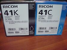 405761, 405762, 405763, 405764 Ricoh GC41 Ink Tank standard yield set of 4