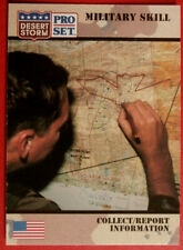 DESERT STORM - Card #153 - Military Skill: COLLECT / REPORT INFORMATION - 1991