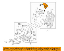 HYUNDAI OEM 13-18 Santa Fe Third Row Seat-Headrest Head Rest 89700B8500R6X