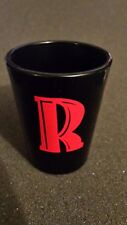 "One Black 2016 Letter ""R"" Fireball Whiskey Shot Glass. FREE SHIPPING."