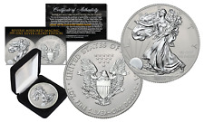 2017 American Silver Eagle 1oz Coin FINE SILVER Reverse Mirror Image & Frosting