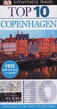 COPENHAGEN - DENMARK - DK EYEWITNESS TOP 10 TRAVEL ALMOST NEW CONDITION