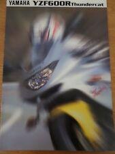 Yamaha YZF600R Thundercat Motorcycle Sales Brochure 1996
