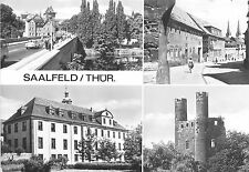 BR12607 Saalfeld multi views  real photo germany