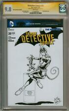DETECTIVE COMICS #20 CGC 9.8 SIGNATURE SERIES SIGNED PERKINS CATWOMAN SKETCH DC