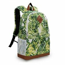 Womens Canvas DSLR Camera Case Bag Padded Insert Bag Daypack Travel Bag Backpack