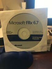 NEW Microsoft FRx 6.7 for Small Business Financials CD. Never Used