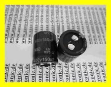 Yageo Elko Condensateur 150 µf 400v 25 x30 mm 105 ° ra.10mm 2 pièces