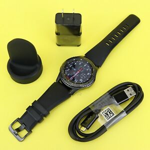 Samsung Gear S3 Frontier SM-R760 Wi-fi Smart Watch w/ Large Size Band