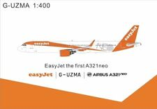 Panda Models EasyJets Airbus A321Neo G-UZMA 1/400 GeminiJets Phoenix JC Wings
