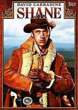 USED 3DVD -  SHANE -  DAVID CARRADINE, JILL IRELAND , 1966 CLASSIC - 867 minutes