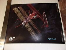 POSTER - NASA - SPACE STATION - LOCKHEED MISSILES & SPACE COMPANY
