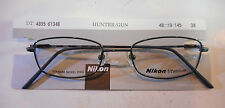 Nikon DT 4895 Hunter/Gun 48/19 Titanium Eyeglass Frame New