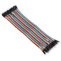 120pcs 20cm Male to Male Color Breadboard Jumper Cable Dupont Wire