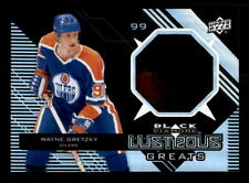 2012-13 Black Diamond Lustrous #LGWG Wayne Gretzky Oilers SP (ref counter)