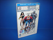 New! Justice League Crisis on Two Earths - Blu-ray + Graphic Novel + Digital