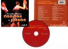 """TANGOS ET PASOS """"Les Plus Beaux"""" Vol.1 (CD) Corchia,Miguel,Armengol... 1999"""