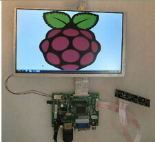 "7"" TFT LCD Display Module 1080P HDMI+VGA+2AV Driver Board for Raspberry Pi new"
