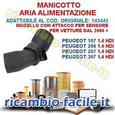 MANICOTTO TUBO ASPIRAZIONE PEUGEOT 1007 107 206 207 307 1.4 HDI ADATT. 143445
