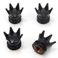 Bouchon de valve d'air pneu couronne roi 5 couleur vélo voiture auto moto BMX