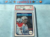 1982 O-Pee-Chee #361 BOBBY CARPENTER Rookie | Capitals | Near Perfect PSA 9 Mint