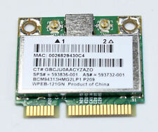 HP G62 G62-200 G62-224CA Wi-Fi WLAN Wireless Card BCM94313HMG2L 593836-001