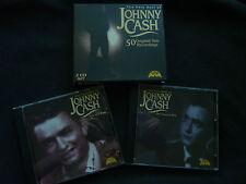 THE VERY BEST OF JOHNNY CASH ULTRA RARE AUSTRALIAN 2 CD SET BOXSET!