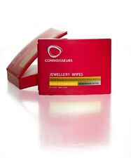 Connoisseurs 25 Dry All Jewellery Wipes Diamond Gold Silver Platinum Cleaner