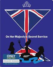 On Her Majesty's Secret Service (Blu-ray + DIGITAL COPY) STEELBOOK: *NEW,SEALED*