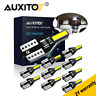 New 10x T10 501 194 W5W 7020SMD LED Car CANBUS Error Free Wedge Light Bulb White
