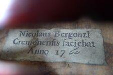 Old Antique Italian Labelled Violin Violino Violine Violon 小提琴 ヴァイオリン
