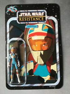 Star Wars - Resistance - Custom Carded Torra Doza