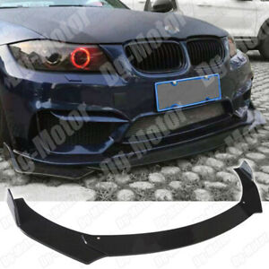 Front Bumper Lip Splitter Spoiler Kit For BMW E90 E92 E93 325i 335i 320i 328i