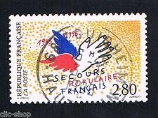 1 FRANCOBOLLO FRANCIA SOCCORSO POPOLARE FRANCESE 1995 usato