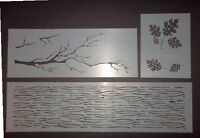 Camo Woodland 3 stencil Set 34x9,24x9,12x9 stencils