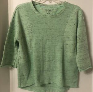 Calvin Klein Performance Quick Dry 3/4 Sleeve Pullover Shirt Women's Size S
