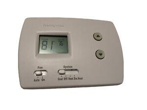 Honeywell Home TH3210D1004 PRO Non-Programmable Digital - Premier White