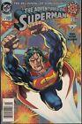 ADVENTURES OF SUPERMAN #0 1994 DC -POWERS BEYOND MORTAL MAN KESEL/DUFFY..VF/NM