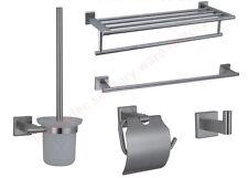 Full set Lead free Stainless steel304 brushed nickel Bathroom Hardware accessory
