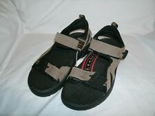 NEW Route 66 Men's Brown Black Leather Sandals size 9