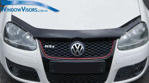 Premium Quality Bonnet Protector Tinted for Volkswagen Golf Mk5 Jetta 2005-2010